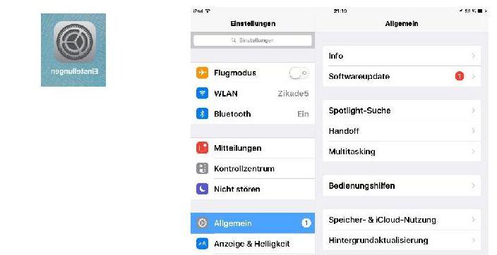 iPhone/iPad: Einstellungen für einfachere Benutzung.