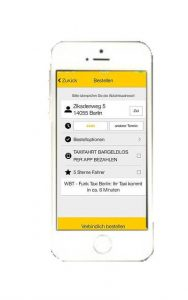 Taxi App Berlin: Taxi Eu Bestellung
