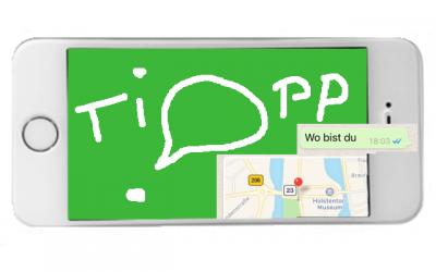 WhatsApp Standort Senden, Teil 2: Und der Empfänger?