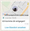 WhatsApp Live-Standort senden 6