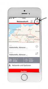 Bahn Online-Ticket iPhone 01