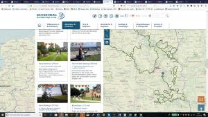 Fahrradtouren in Brandenburg