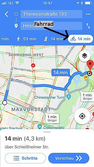 Handy-Navigation: Routing: Google 11