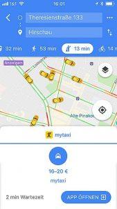 Handy-Navigation: Routing: Google 18