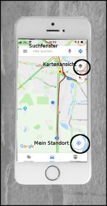 Handy-Navigation: Google-Maps 02