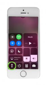 Taschenlampe iPhone