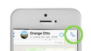 Whatsapp Telefonieren iPhone