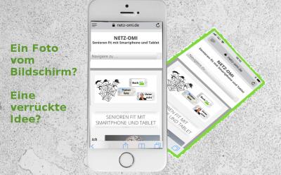 Android oder iPhone: So machst du einen Screenshot!