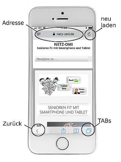 Internet surfen: iPhone Überblick