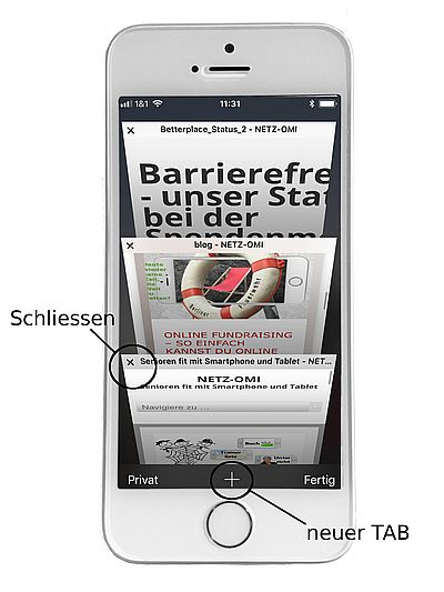internet surfen: iPhone - 1