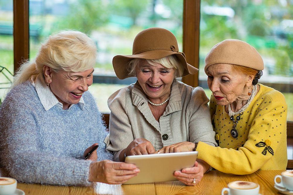 Smartphone für Senioren