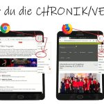 Internetseite speichern: Chronik/Verlauf finden