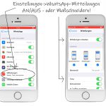 WhatsApp: stumm schalten -alles-iphone