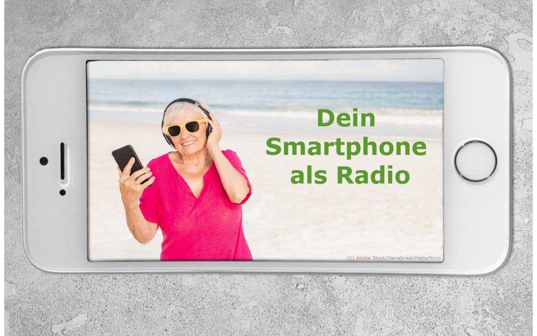 Smartphone Radio: Beitragsbild