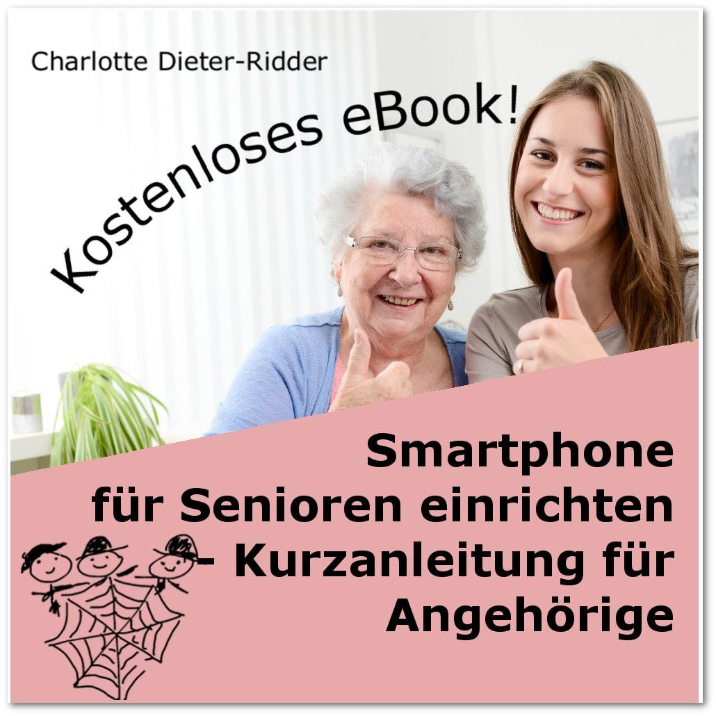 Smartphone für Senioren einrichten - kostensloses pdf