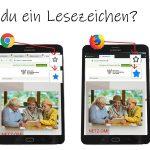 Internet Browser: Lesezeichen setzen 1
