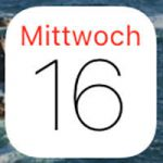Kalender-App: Apple, Icon