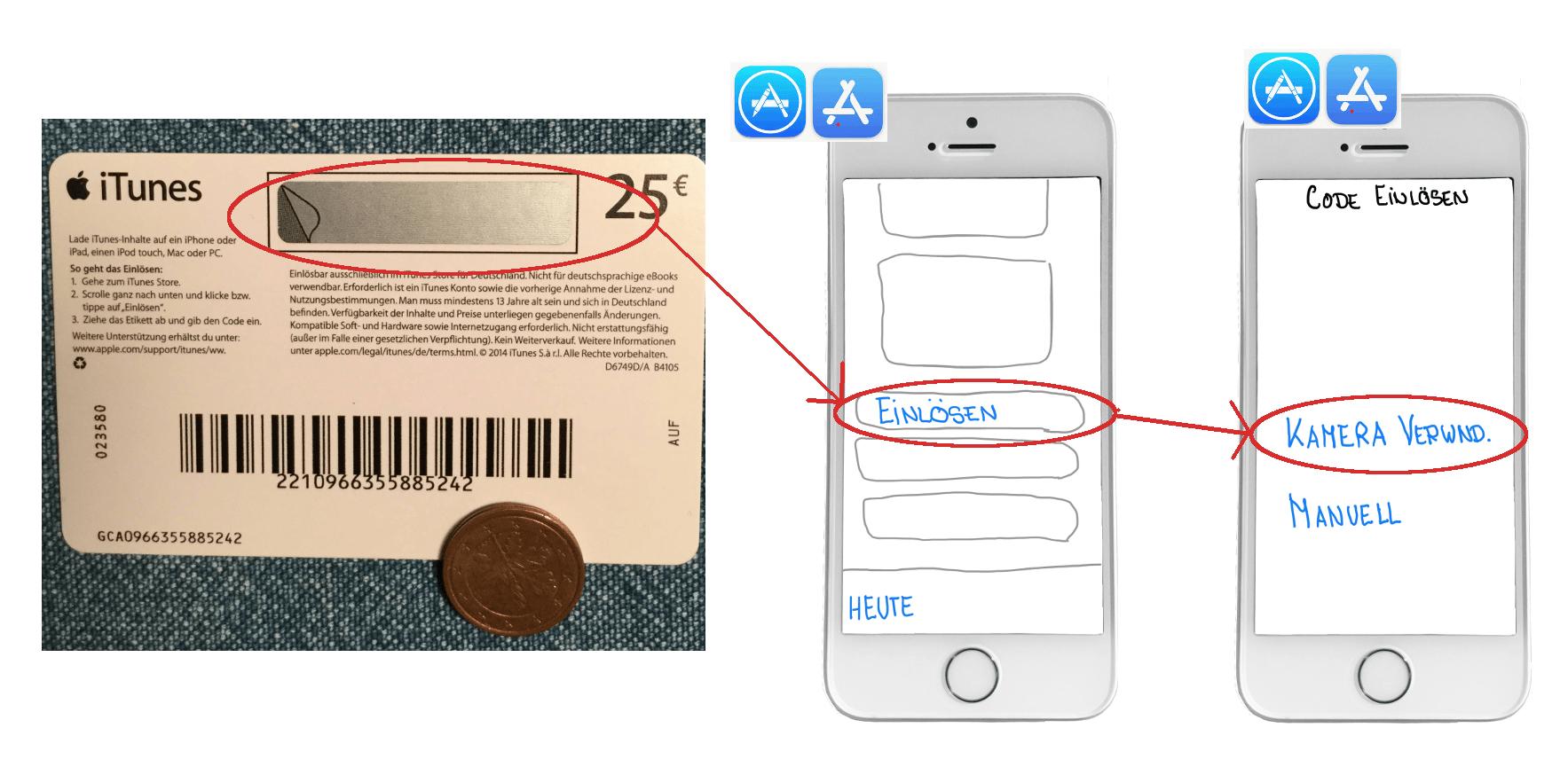 Apple Guthaben einlösen