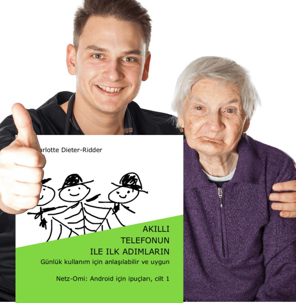 Smartphoneanleitung für Senioren türkisch