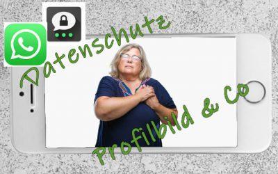 Datenschutz bei WhatsApp und Threema: Profilbild & Co.