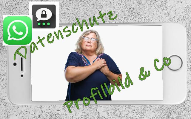 Datenschutz WhatsApp Threema Profilbild