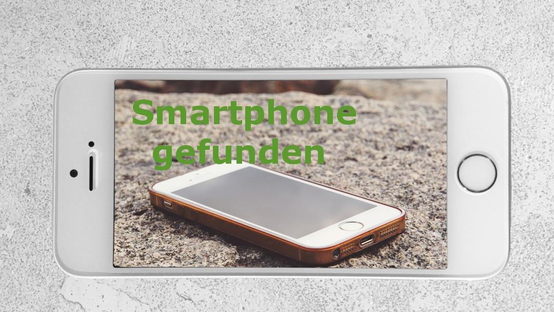 Smartphone gefunden – wie finde ich den Besitzer?